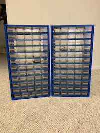 2- 60 Drawer Part Organizers. Great Shape Beltsville, 20705