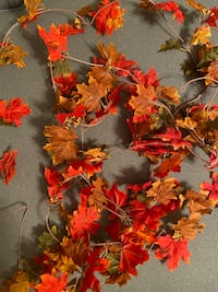 BRAND NEW Artificial (Over 8ft) Fall Garland