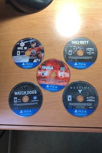 Video Game bundle (negotiable price)