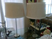Metal Table Lamps Set of Two Miami, 33179