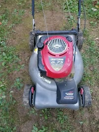 craftsman self propelled push mower  45 km