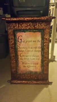 God grant me the serenity wall hanging Mauldin, 29662