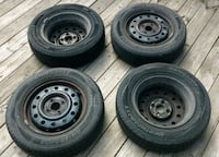 """All season tires and rims-14"""""""