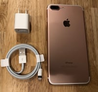 Rose Gold iPhone 7 Plus Factory Unlocked 32GB (7+ Pink)•• New York, 10018