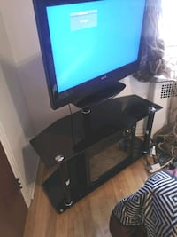 Tv stand with heater and Tv