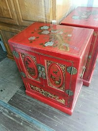 red and brown wooden cabinet Florence, 97439