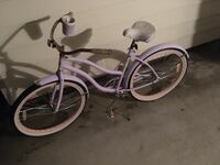 pink and white cruiser bike Fayetteville, 28311