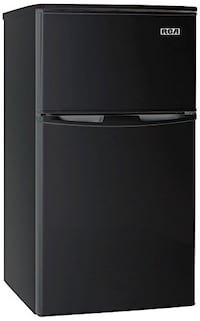 NEW RCA-Igloo 3.2 Cubc Foot 2 Door Fridge and Freezer - Black Roseville