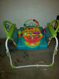 baby's green and blue jumperoo Clinton, 44216