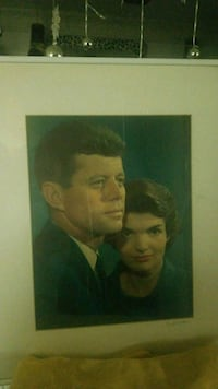 JFK and Jackie portrait