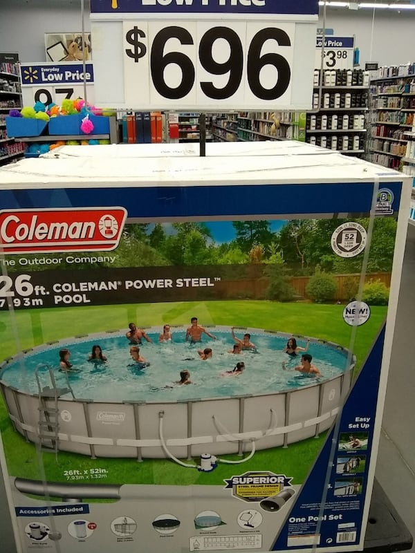 Coleman's above ground swimming pool 2ac124ab-80b4-4fc2-a994-9a7ba9cfe0d8