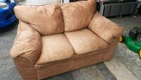 LIGHT BROWN 2SEATER COUCH/SOFA - DELIVERY AVAILBLE Toronto, M1P 2N5