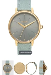 Leather band Nixon watch Industry, 91746
