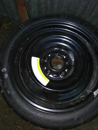 T125/70d/16 five lug new spare tire Augusta