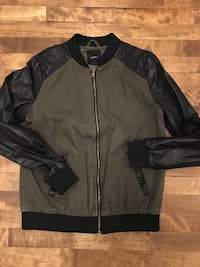 army faux leather bomber jacket Montréal, H4P 1K8
