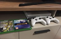 Xbox one s + 2.joystick + guitar hero live set + oyunlar Muratpaşa, 07310