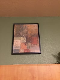 brown, gray, and beige leaf painting San Antonio, 78230