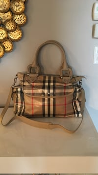 Authentic Burberry diaper/ tote bag never used originally $700+