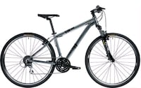 black and grey mountain bike Montréal, H2J 3B9