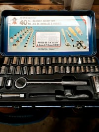black and gray socket wrench set 464 km