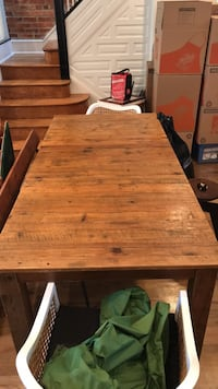"Dining table, 60""x38"", has removable middle piece that can make it 80"". Great shape, Room & Board table...no delivery! Must be picked up Washington, 20001"