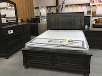 Large Queen Bed Set Florence, 76527