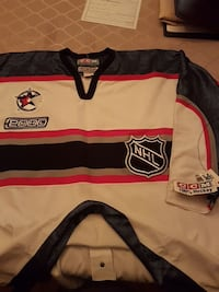 Brand new eith tags Authentic on ice game jersey