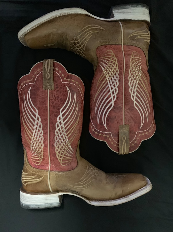 1a00b0ab296 Ariat Men's Mecate Wildhorse Tan Wide Square Toe Western Boots
