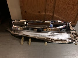 2004 international 4300 chrome bumper