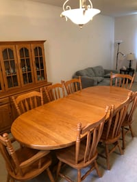 China cabinet & table set  Hagersville, N0A 1H0