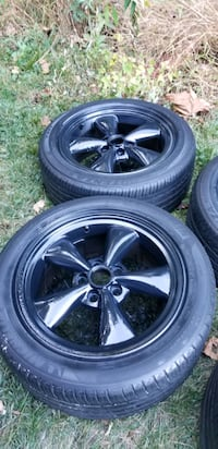 17 mustang wheels rims with tires  5x114.3 lug pat Germantown, 20876