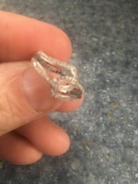 silver and diamond ring in box Ottawa, K1T 0C3