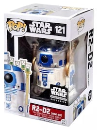 Funko Pop Starwar Collection R2D2 #121