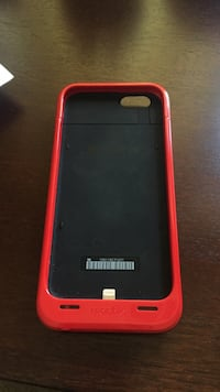 Red mophie charging case