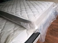 New single mattress 185. delivery available Edmonton, T5T 3H5