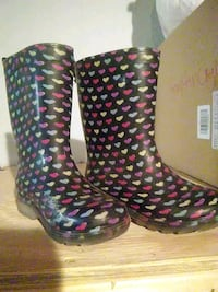 children's boots water-resistant size 10 York, 17403