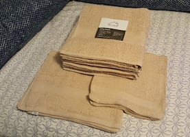 alcove 16-Pc. Everyday Bath Towel Set   NEW