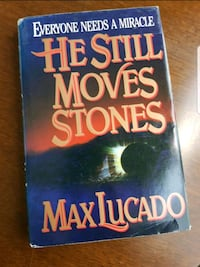 He Still Moves Stones - Max Lucado, new condition, hardcover