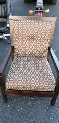 Matching Chair and foot rest. Lancaster