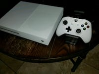 White Xbox One S console with controller  Riverside, 92507
