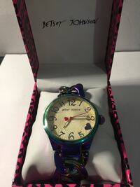 New Betsey Johnson Women's Watch Waterloo