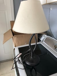 Small Metal lamp, great condition with LED bulb Miami, 33183