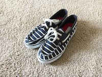 Sperry Top-Sider Women's Biscayne Navy Stripe Boat Shoe, Size 6.5 Silver Spring, 20910