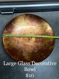 Large Glass Decorative Bowl  Knoxville, 37921