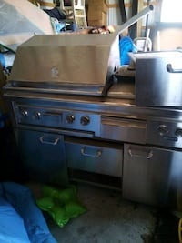 stainless steel gas range oven Hartly, 19953