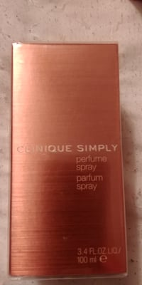 Brand New Clinique Simply Perfume Spray 100ml