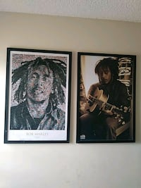 Bob Marley framed wall art Hialeah, 33014