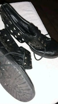 Size 81/2 punkforck studded ankle length boots Hanford, 93230