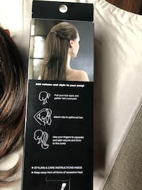 Clips hair extension  NEW IN BOX