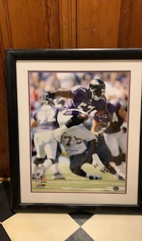 Autographed Bart Scott photo. Baltimore, 21222